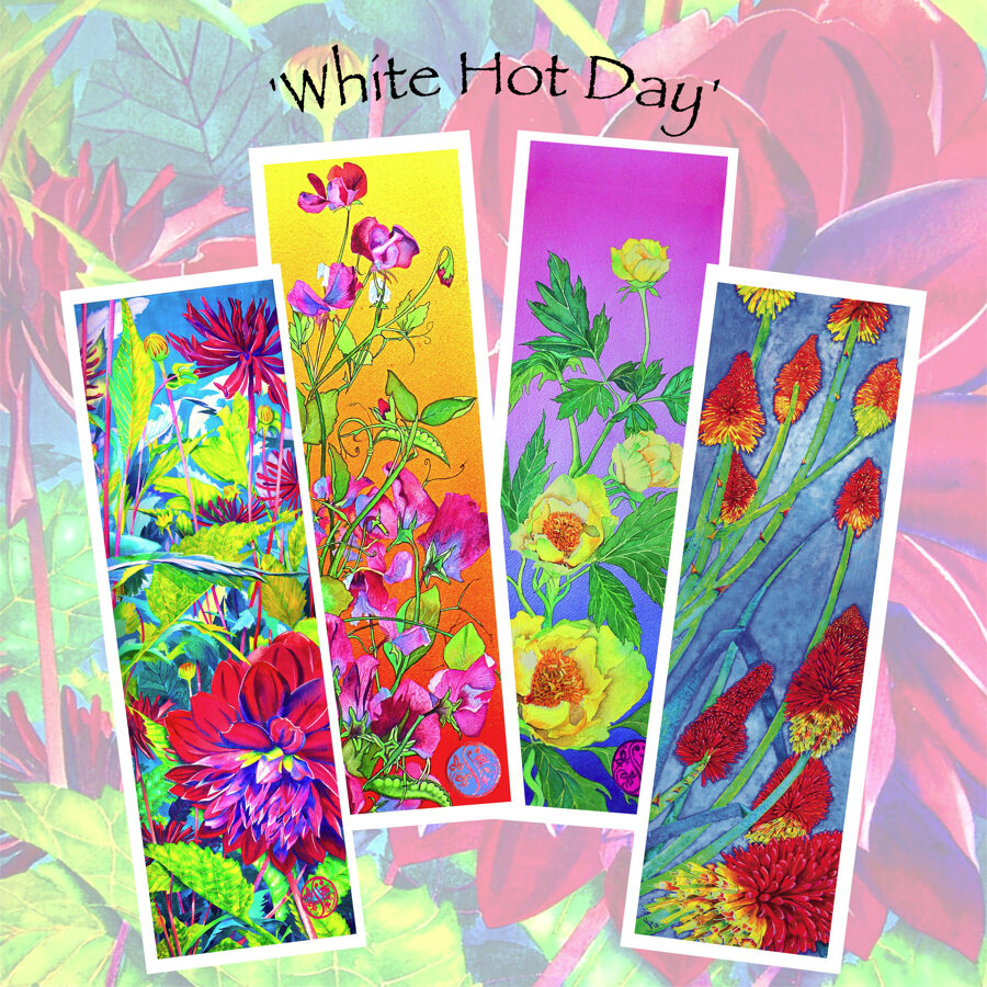 White Hot Day - Long Cards Collection