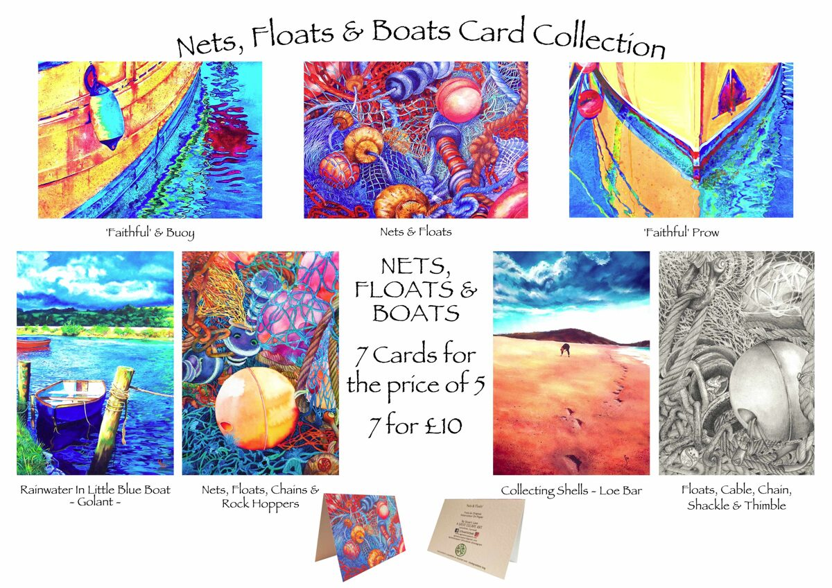 Nets, Floats & Boats Card Collection