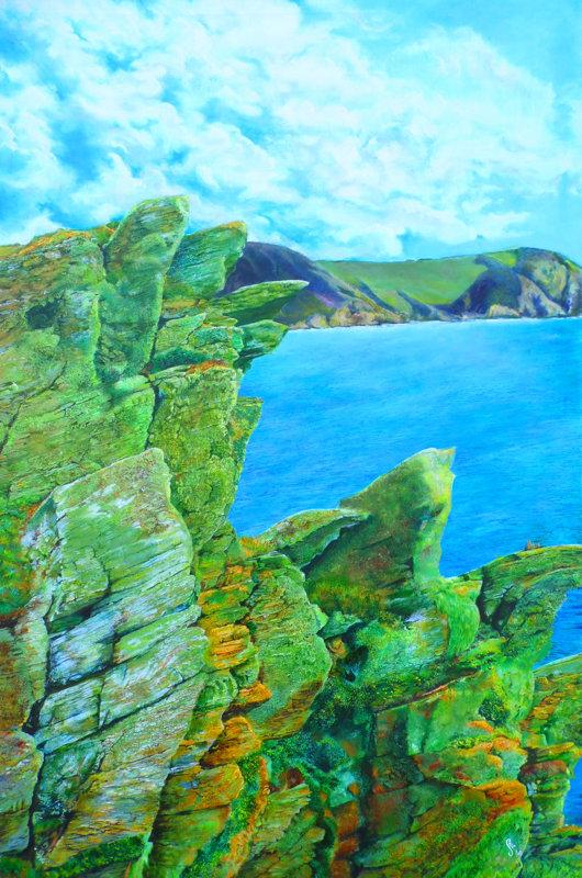 Pencarrow Head, Lantivet Bay