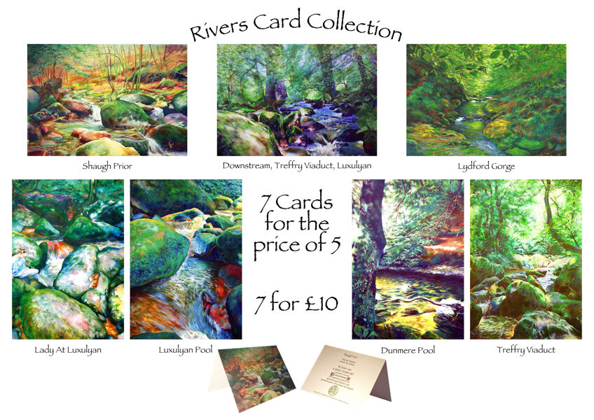 Rivers Greetings Cards Pack (7 for price of 5)